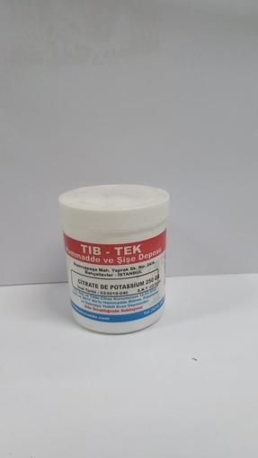 Picture of CITRATE DE POTASSIUM 250 GR TIBTEK