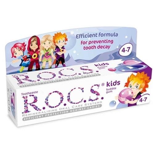 Picture of ROCS KIDS 4-7 YAS BALON SAKIZLI DİŞ MACUNU
