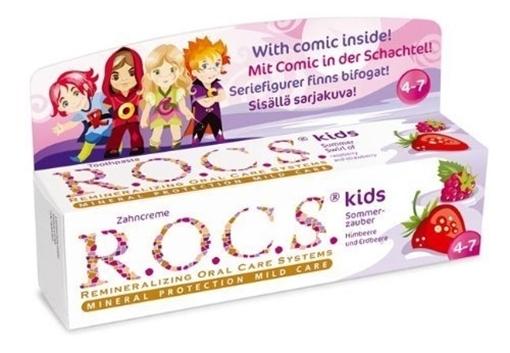 Picture of ROCS KIDS 4-7 DİŞ MACUNU AHUDUDU ÇILEK