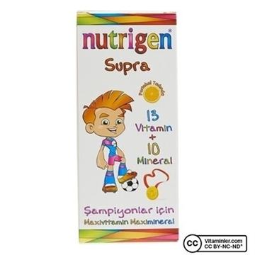 NUTRIGEN SUPRA PORTAKAL 200 ML ŞURUP resmi