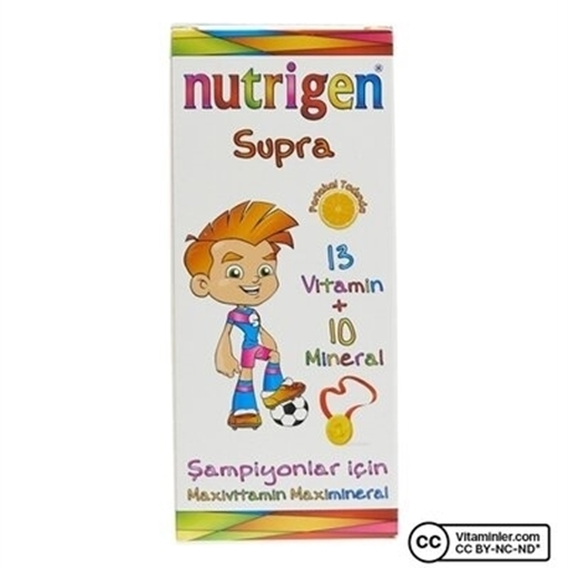 Picture of NUTRIGEN SUPRA PORTAKAL 200 ML ŞURUP