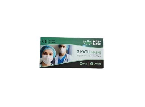 Picture of MASKE 3 KATLI SIYAH 50 LI (MRT+MASK)