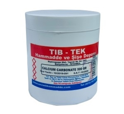 Picture of CALCIUM CARBONATE 500 GR TIB TEK