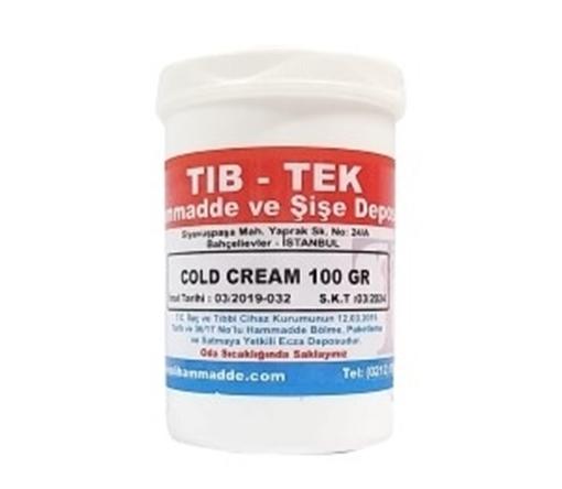 COLD CREAM 100 GR TIB TEK resmi