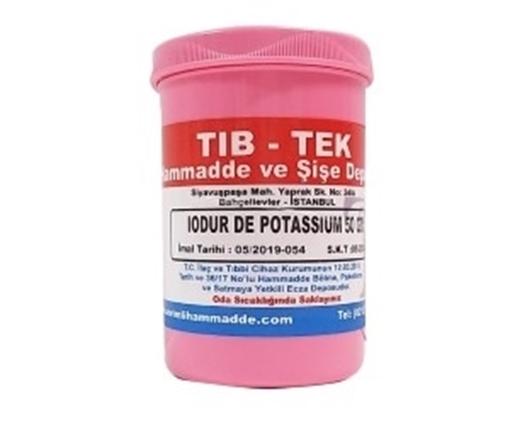 Picture of IODURE  DE POTASSIUM 50 GR TIB TEK