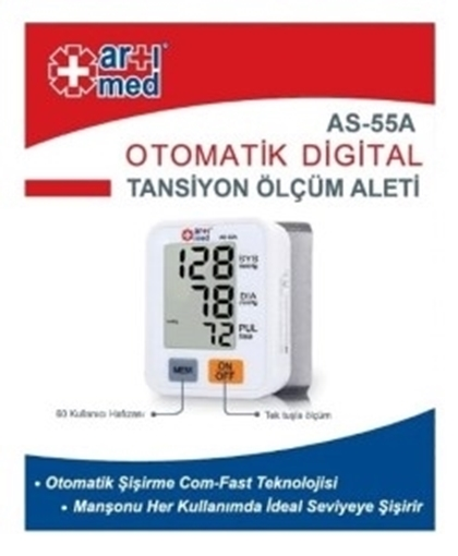 Picture of TANS.ALETİ BİLEK TİPİ AS-55A ARTIMED