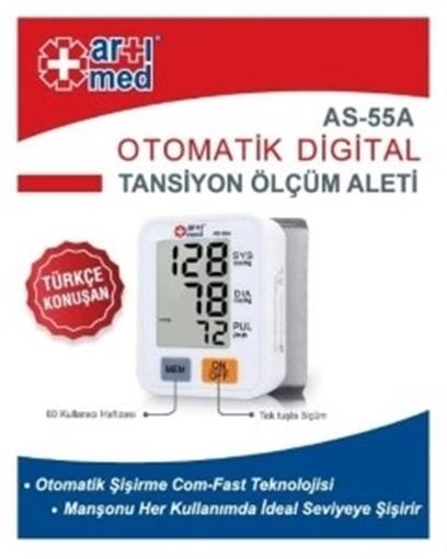 Picture of TANS.ALETİ BİLEK TİPİ KONUSAN AS-55A ARTIMED