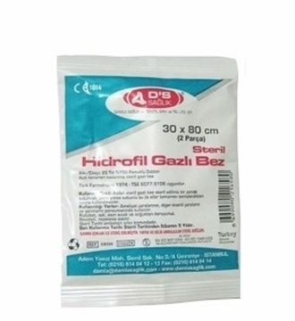 Picture of GAZLI BEZ HIDROFIL 30*80 2 ADETLI (DS)