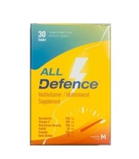ALL DEFENCE MULTIVITAMIN 30 TB resmi