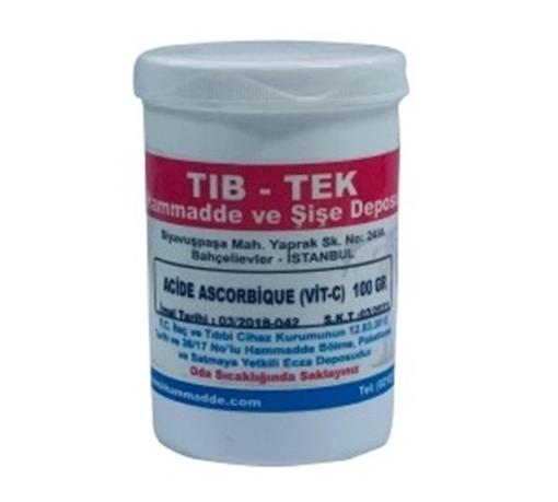 ACIDE ASCORBIQUE (VIT-C) 100 CC TIBTEK resmi