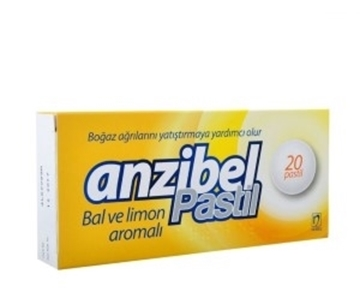 Picture of ANZIBEL BAL LIMON ARO.20PAST.