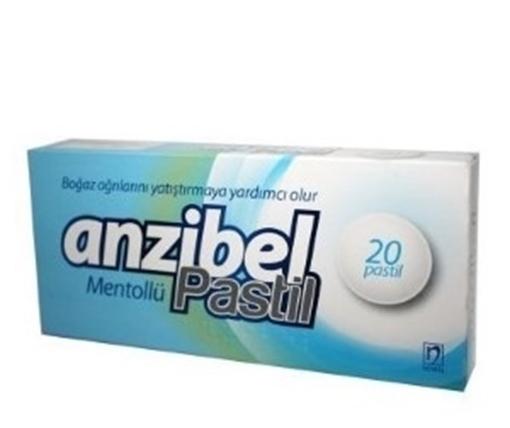 Picture of ANZIBEL MENTOLLU 20 PASTIL