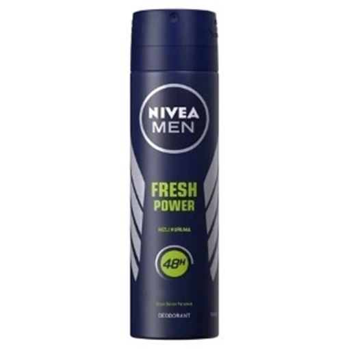 Picture of NIVEA DEO SPRAY FRESH POVER ERKEK 150 ML