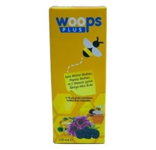 WOOPS PLUS KARAMÜRVER PROPOLIS C VİT. 150 ML resmi