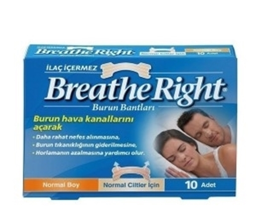 BREATHE RIGHT BURUN BANDI NORMAL resmi