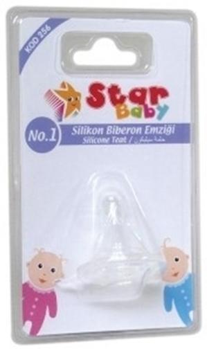 STAR BABY SILIKON BIB.EMZIGI NO:1(256) resmi
