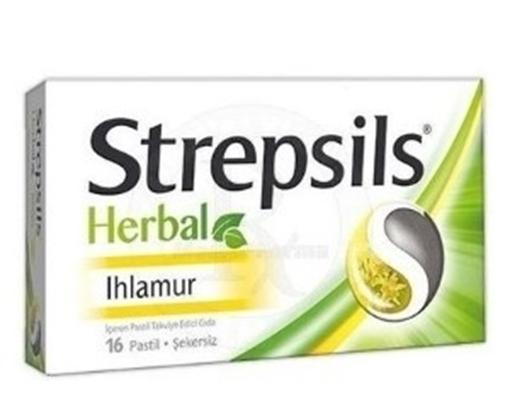 Picture of STREPSILS HERBAL IHLAMUR 16 PASTIL