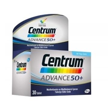 CENTRUM ADVANCE 50+ MULTIVITAMIN 30 TB resmi