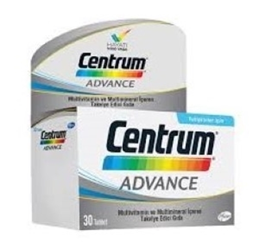 Picture of CENTRUM ADVANCE MULTIVITAMIN 30 TABLET
