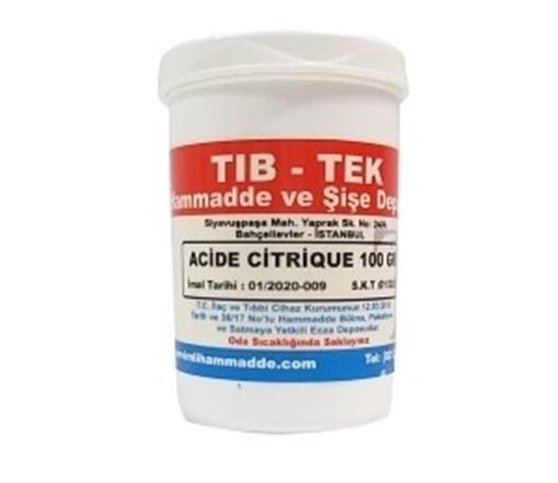 Picture of ACIDE CITRIQUE 100 GR TIBTEK