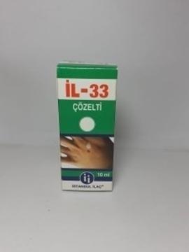 IL-33  10 ML SIGIL ILACI resmi