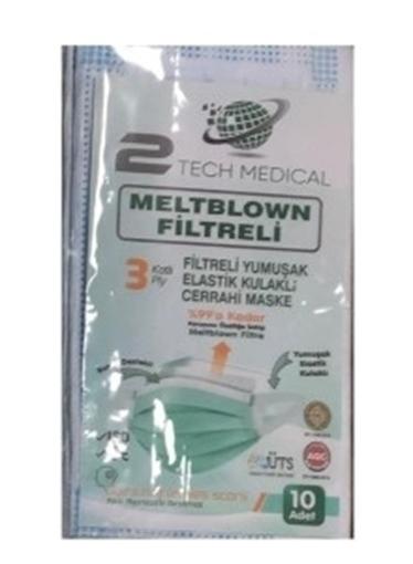 Picture of MASKE MELTBLOWN 10 LU MAVI (2 TECH MEDICAL)