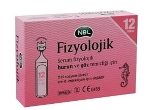 NBL SER.FIZ. 5 ML 12 FLAKON (NOBEL) resmi