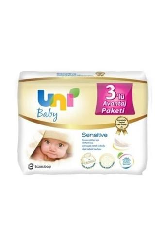 UNI BABY SENSITIVE 3 LU (56 ADET) resmi