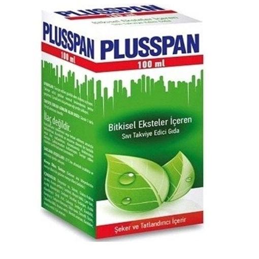 PLUSSPAN ŞURUP 100 ML resmi