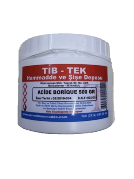 Picture of ACIDE BORIQUE 500 GR TIBTEK