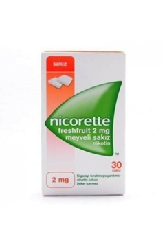 Picture of NICORETTE FRUIT 2MG 30TB SAKIZ