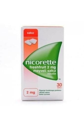 Picture of NICORETTE FRUIT 2MG 30TB SAKIZ