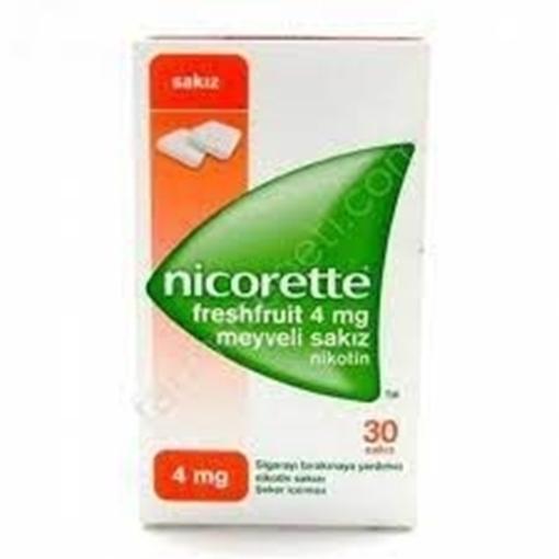 Picture of NICORETTE FRUIT 4MG 30TB SAKIZ