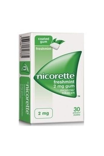Picture of NICORETTE MINT 2MG 30 TB SAKIZ