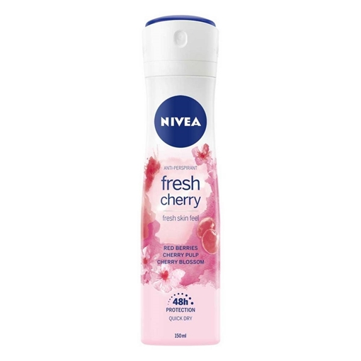 Picture of NIVEA DEO BAYAN FRESH CHERRY 150 ML
