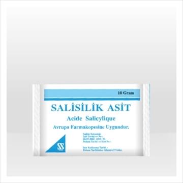 SALISILIK ASIT 10 GR (SIHHAT) resmi